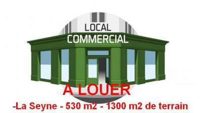 Local commercial 530 m2 la Seyne