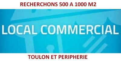 Local Commercial 500 à 1500 m2