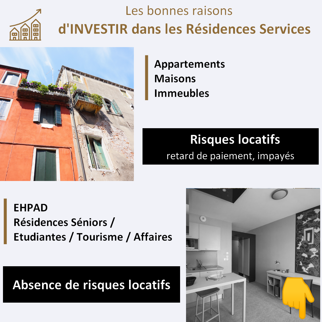 Residence services risque locatif